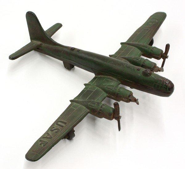 2010: Cast Iron WWII airplane