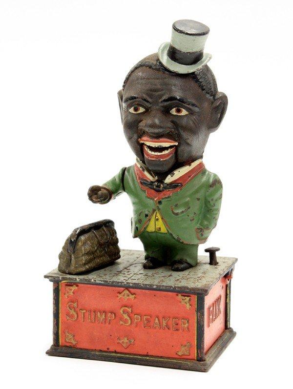 2012: ''Stump Speaker'' mechanical bank