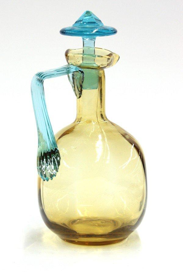 2017: Art Glass decanter