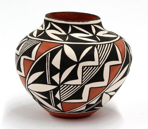 2021: Acoma pottery bowl