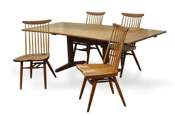 2369: George Nakashima Trestle dining table
