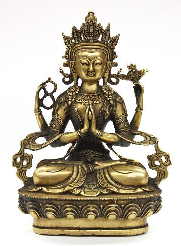 7: Sino-Tibetan Bodhisattva Figure