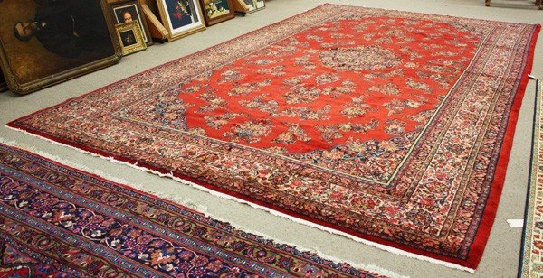 252: Palace size Persian carpet