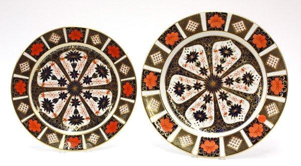6022: Royal Crown Derby ''Old Imari'' porcelain