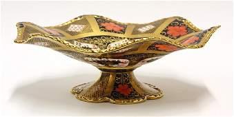 6023: Crown Derby ''Old Imari'' centerpiece