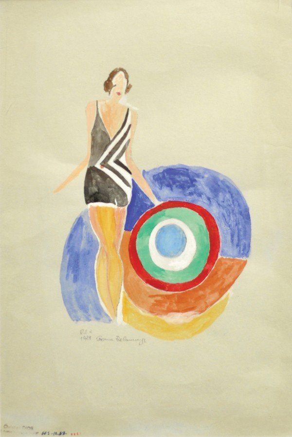 6191: Painting, Sonia Delaunay, Christian Dior