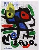 6269 Lithographs after Joan Miro Derrier Le Miroir