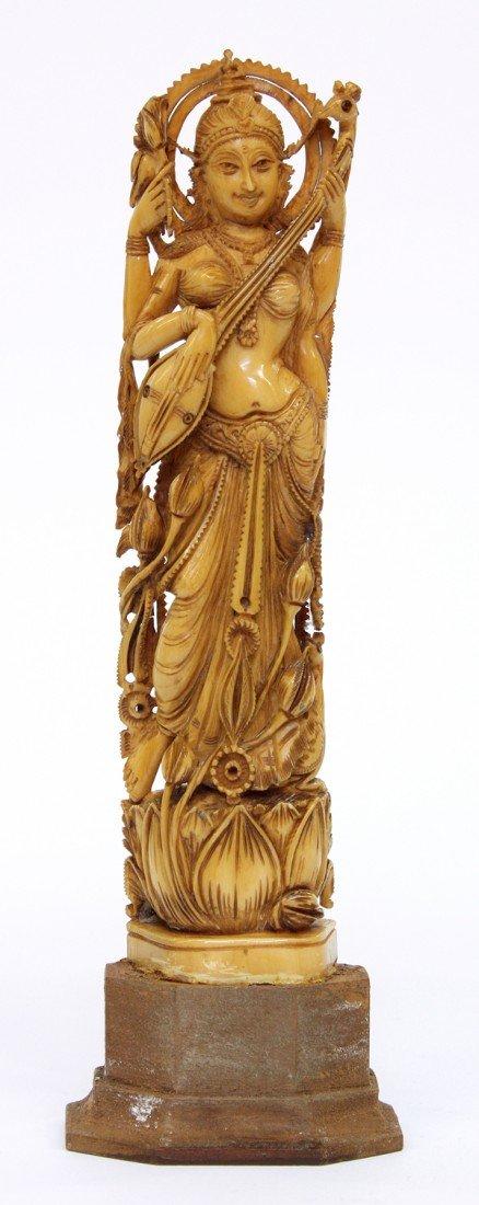 4003: East Indian Ivory Figure