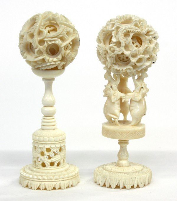 4011: Chinese Ivory Puzzle Balls