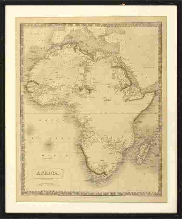 Maps, Wilkinson, Sidney Hall, Africa