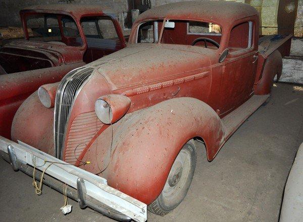 8: 1937 Hudson Terraplane Pickup