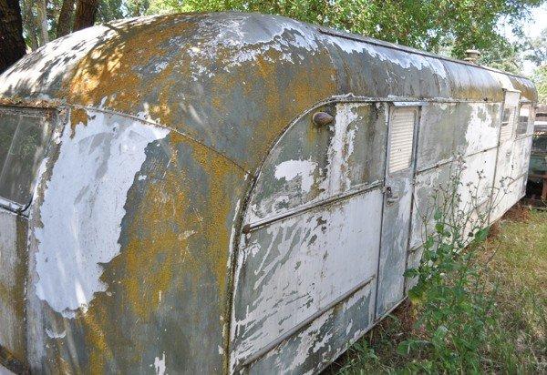 19: 1940's Vagabond trailer
