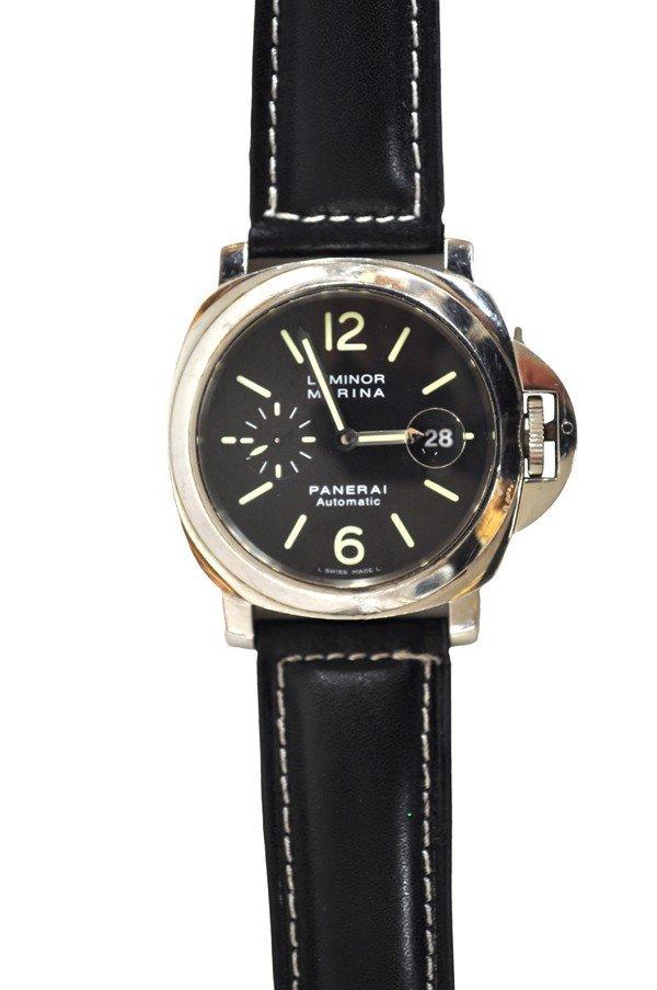 2410: Gentleman's Paneri Luminor Marina wristwatch