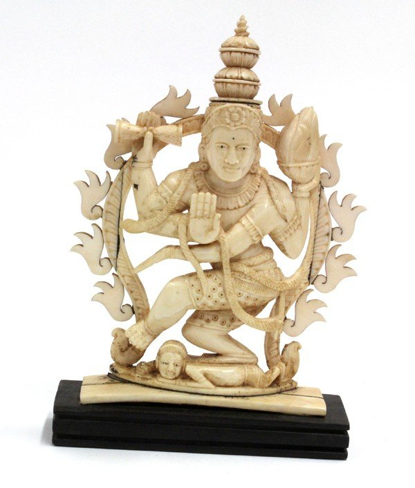 2: East Indian Ivory Shiva Figure