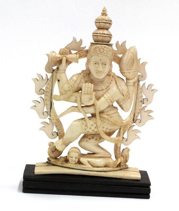 2: East Indian Ivory Shiva Figure