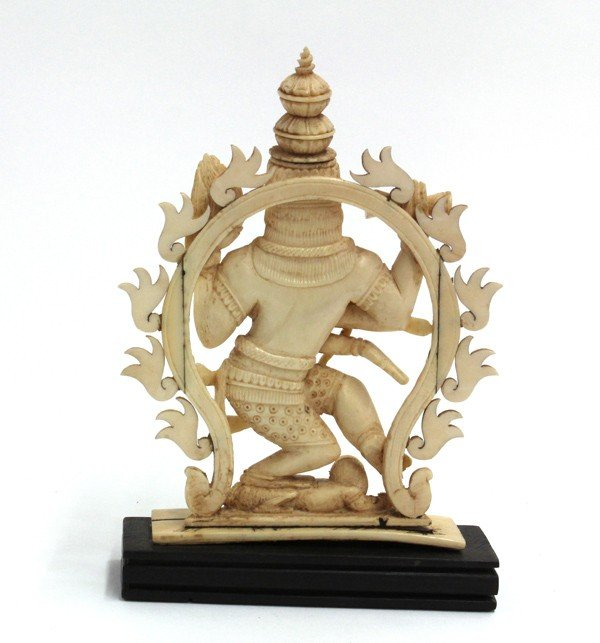2: East Indian Ivory Shiva Figure - 2