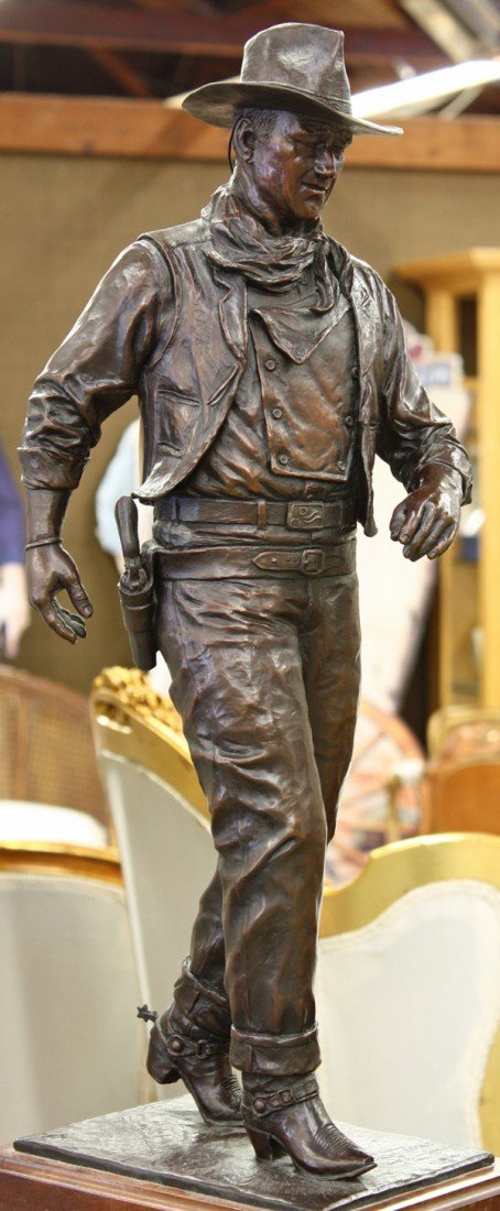 207: Bronze, Robert Summers, John Wayne