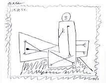2421: Lithograph, Pablo Picasso