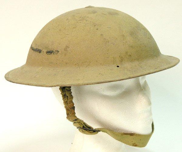 2339: British WWII 8th Army Desert Rat Helmet