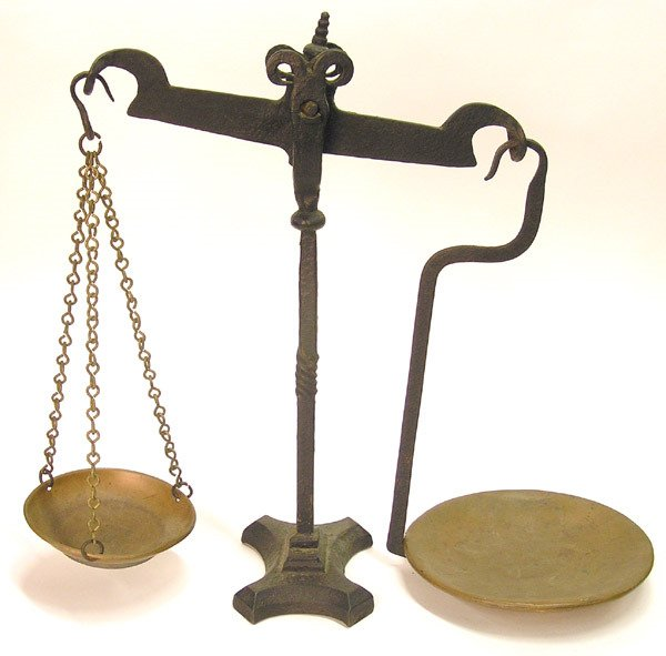 2019: Cast Iron and Brass Scale