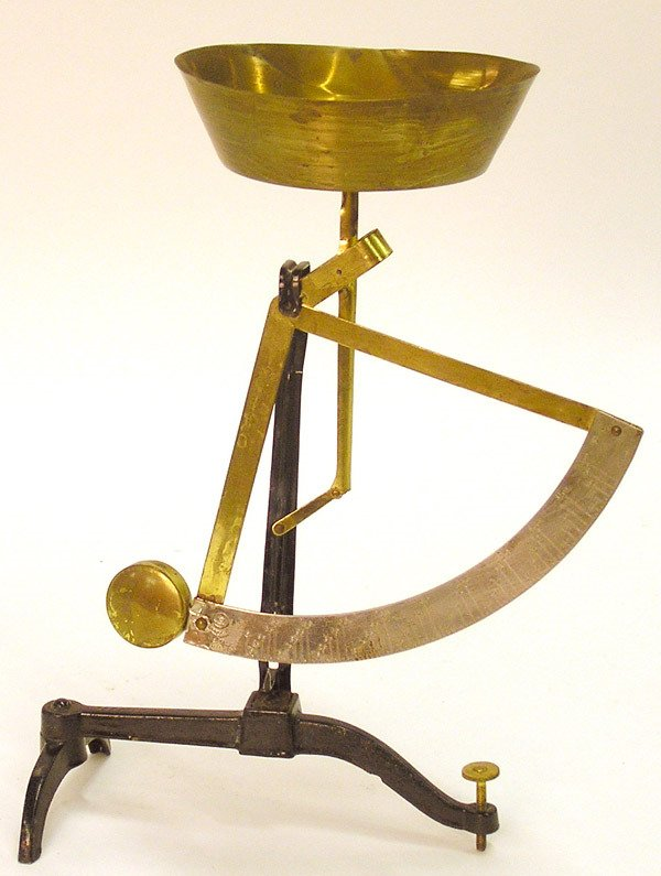 2022: Cast iron and brass scale