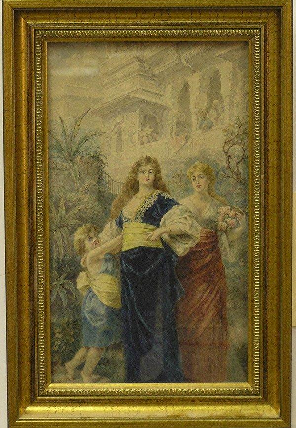 2006: Watercolor, Bessie Dille, Orientalist