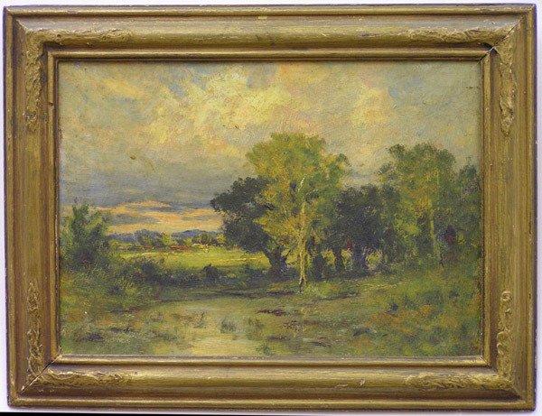 2007: Framed oil, Valley Oaks, California