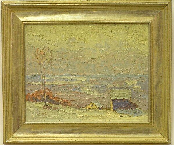 2003: Framed oil, Pennsylvania, J.M. Plavcan