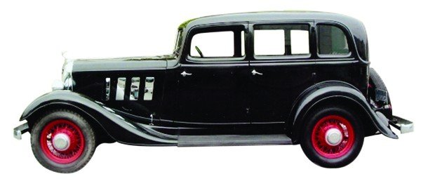 6520: 1933 Ace Continental