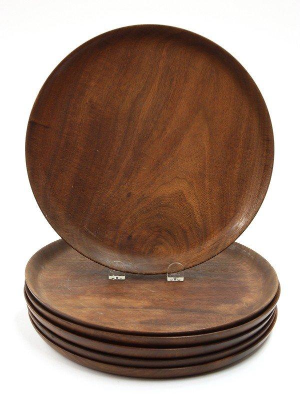 6000: Bob Stocksdale wood turned plates
