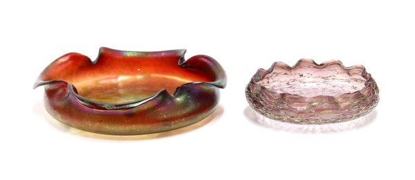 6008: Loetz art glass bowl