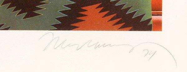 6395: Lithograph, Mel Ramos, Navajo Nude - 2