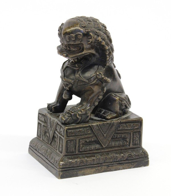 4013: Chinese Bronze Fu-lion