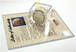 4245: San Francisco Giants signed baseball, 1958