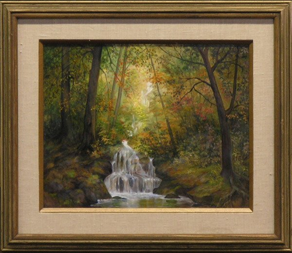 2: Landscape painting by Lydia Vercinsky