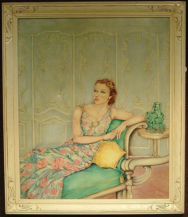 8: Oil/canvas, Aimee A. Lozier