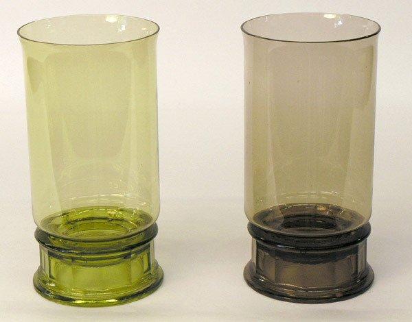 11: Two Dansk Gunnar Cyren Crystal Lanterns