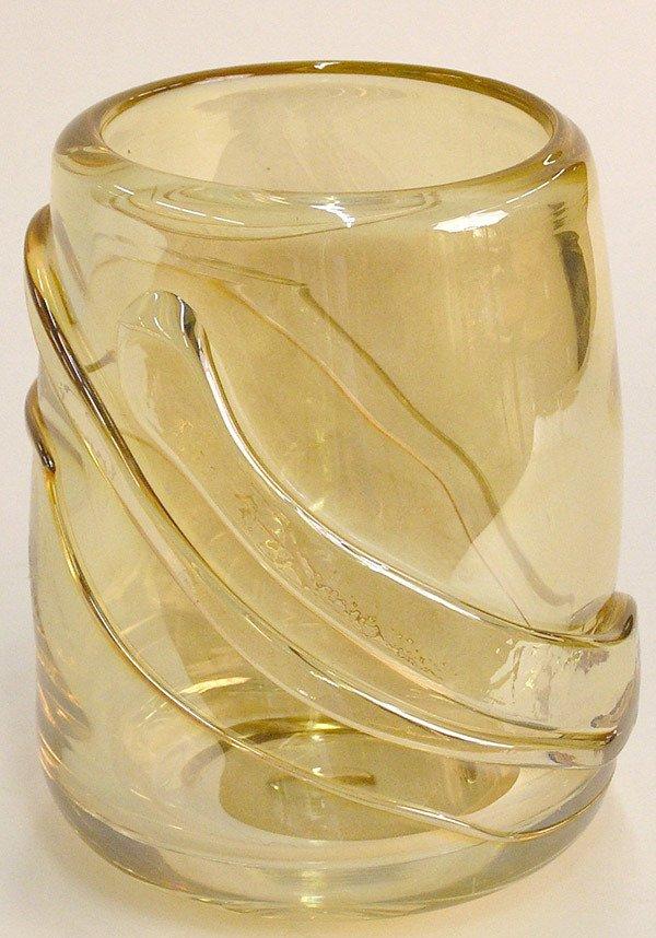 15: Esteban Prieto Glass Vase