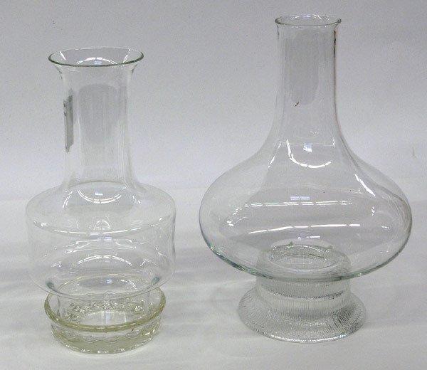 22: Two Dansk Gunnar Cyren Crystal Lanterns