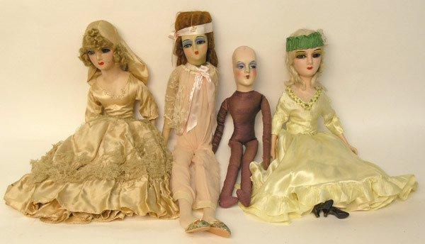 64: Boudoir dolls, early 20th century