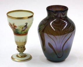 2010: Art glass vase