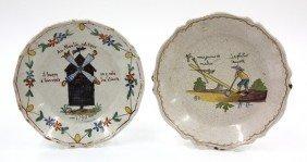 Quimper Style Plates