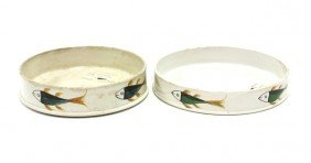 2021: Liverpool Pearlware Char dishes