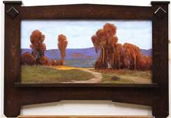 2159: Painting, Jesse Rasberry, Golden Sunlight