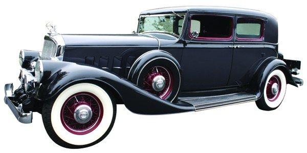 2428: 1933 Pierce Arrow model 1236 Club Sedan