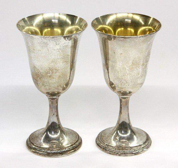 2560: International Silver Co. goblets