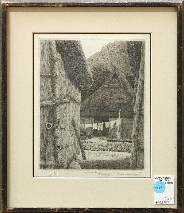 364: Prints by Ryohei Tanaka and Helen Bryant Perren