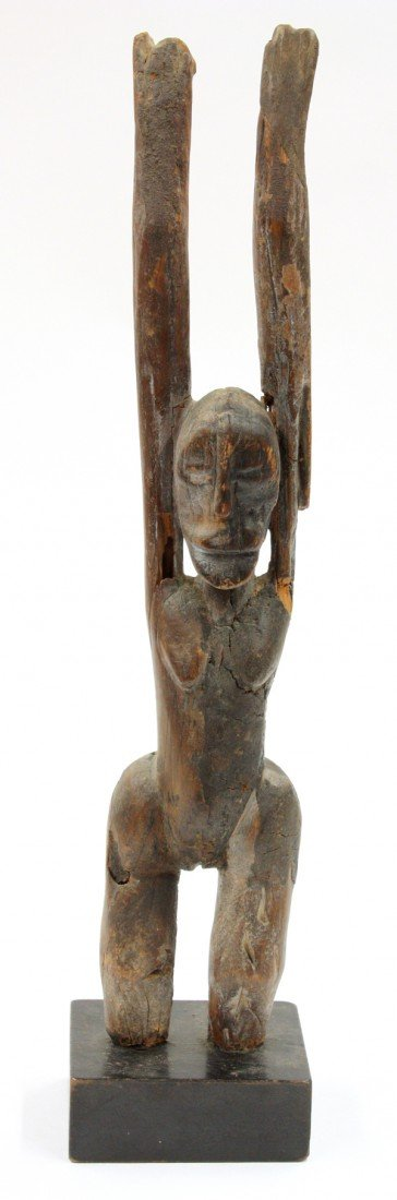 6014: Mali wood carved sculpture