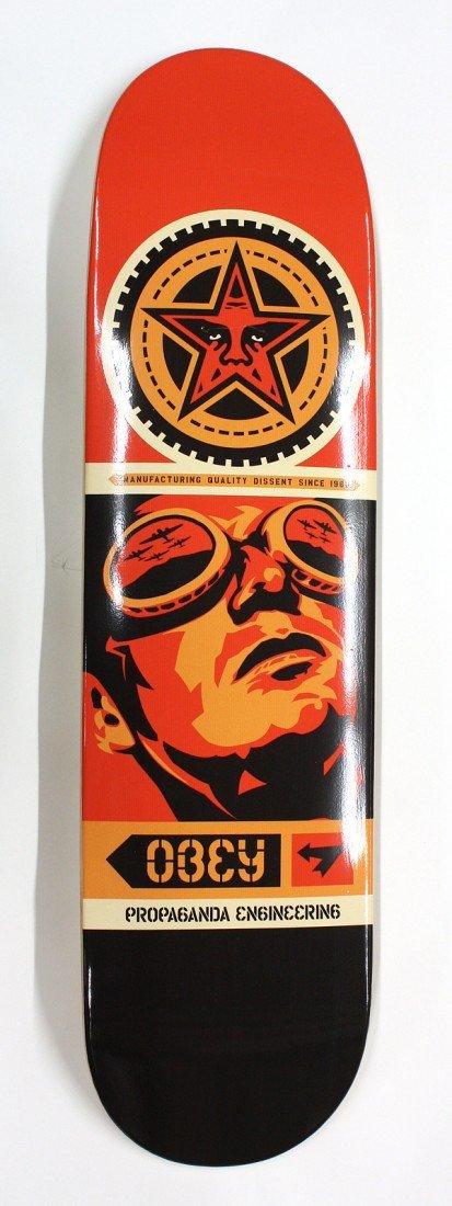 6190: Set of 3, Shepard Fairey ''Obey'' skateboards - 4
