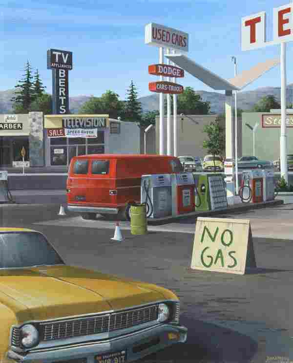 6201: Painting, David Marty, No Gas
